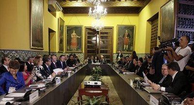 El Grupo de Lima pide más sanciones contra Venezuela