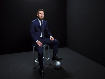 "Messi gana su primer ""The Best"""