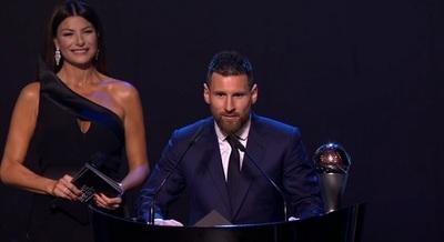 Messi se consagra como mejor jugador del año