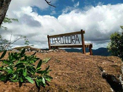 El Cerro Corá es propiedad privada y no está habilitado para el turismo