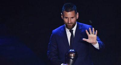 El argentino Lionel Messi es el mejor para la FIFA