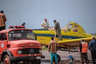 Gestionan más helicópteros y avión para hacer frente a incendios forestales