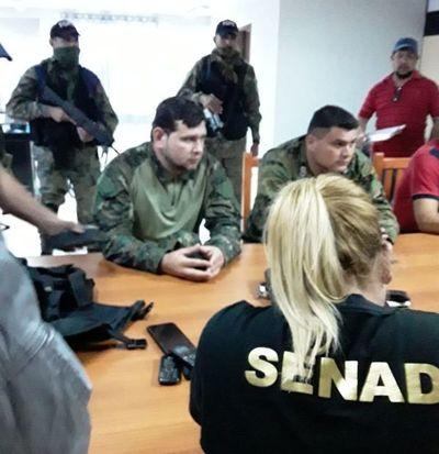 Policías cobraban poco más de G. 1 millón al mes por cooperar con narcos