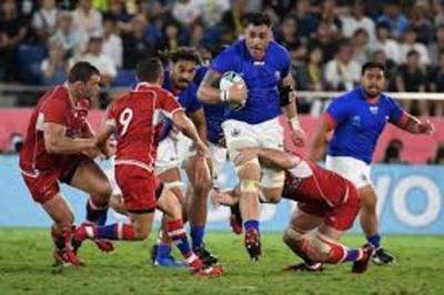 Samoa derrota a Rusia en su debut en el Mundial