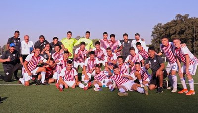 Albirrojita Sub 15 derrotó con autoridad a Argentina