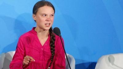 """Ministro de Francia sobre discurso de Greta Thunberg: """"No es necesario crear una generación de deprimidos"""""""