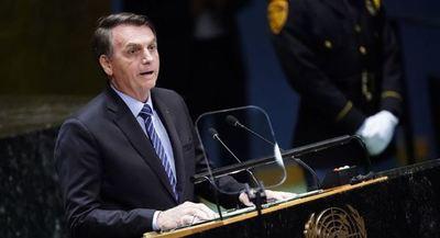"""Bolsonaro afirma que su discurso en la ONU fue """"objetivo y contundente"""""""