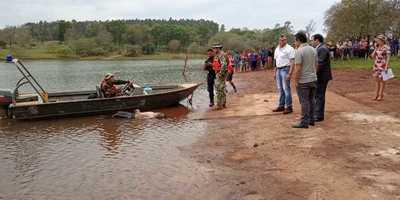 Encuentran el cuerpo del joven desaparecido en aguas del lago Acaray