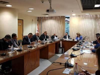 REUNIÓN CON LA COMISIÓN BICAMERAL DE PRESUPUESTO DEL GOBERNADOR DE ITAPÚA