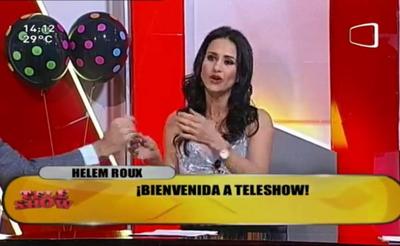 """Helem Roux se sumó a """"TeleShow"""""""