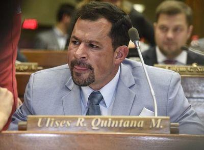 Ulises Quintana interpuso recurso de reposición