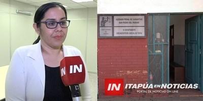 DESIGNAN A NUEVA JUEZA PENAL DE GARANTÍAS DE SAN PEDRO DEL PNÁ.