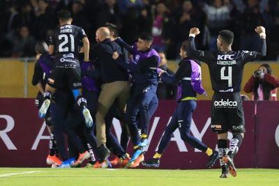 Independiente del Valle rumbo a Asunción