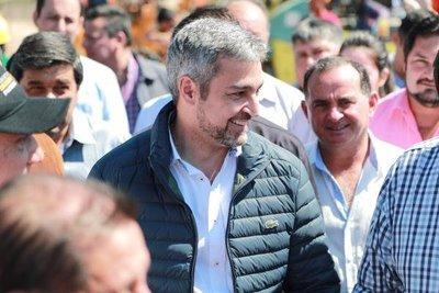 Presidente visita Pilar para inaugurar obras de infraestructura y entregar aportes sociales