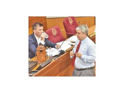 Califican el reflote de juicio político como posturas personales de Riera y Godoy