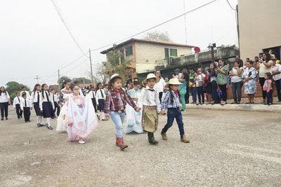 Festejan los 227 años de fundación de Fuerte Olimpo