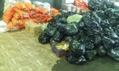 Casi 1500 toneladas de productos incautados por Aduanas