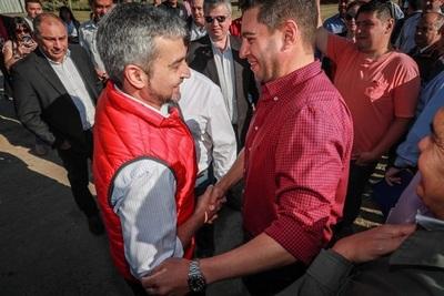 Jefe de Estado inaugura obras y entrega aportes en Pilar