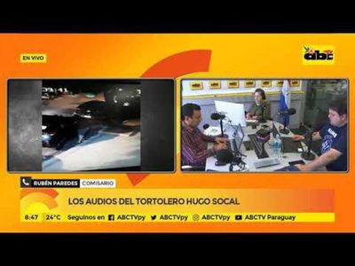 Audios de Hugo Marcelo Socal y de su pareja
