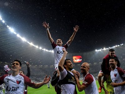 Colón jugará la final de la Sudamericana en La Nueva Olla