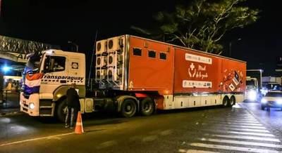 Clínicas móviles ya están en el país y se ultiman detalles para jornada médica en Ñeembucú