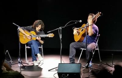Guitarristas de Caaguazú dieron concierto en la Casa de América de Cataluña, España