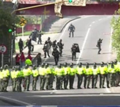 Universidad Nacional de Bogotá lidió con violentas protestas