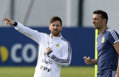 Sin Messi ni Agüero para amistosos