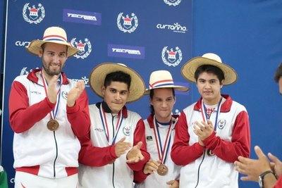 Paraguay ganó el bronce en el Campeonato de Esgrima