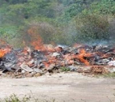 Multarán a sanlorenzanos que arrojen o quemen basura en la calle