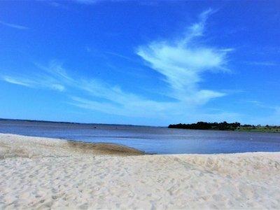 San Juan del Paraná ultima detalles para recibir a turistas en su playa