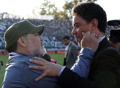 """Maradona: """"Con River no se puede"""""""