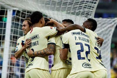 América golea al Guadalajara