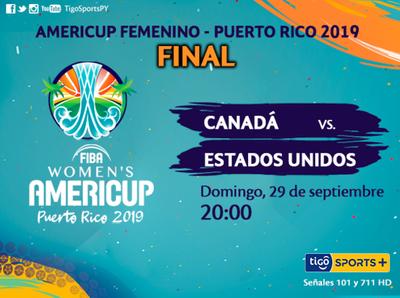 Se define el título de la AmeriCup femenina