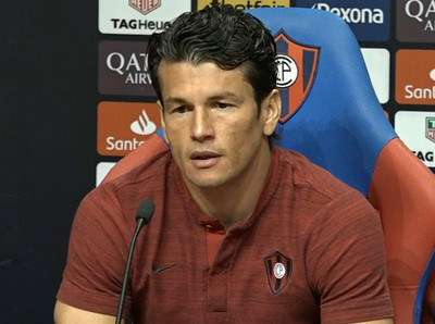 Nelson Haedo: 'Hablamos de ganar la Libertadores… Tenemos que bajarnos de las nubes'