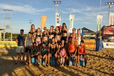 Campeones del Vóley de Playa 2018