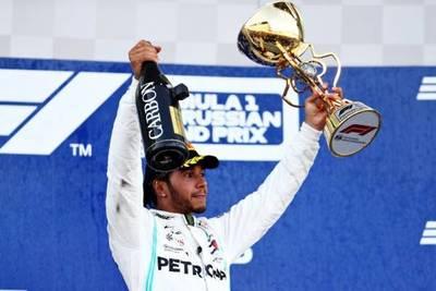 Mercedes se queda con la victoria en el Gran Premio de Rusia gracias a Hamilton