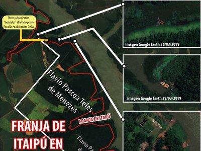 Itaipú confirma que  brasileño rodea tierras donde abunda contrabando