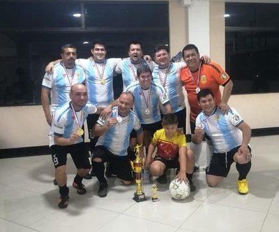 Argentina es campeón en torneo de comunicadores