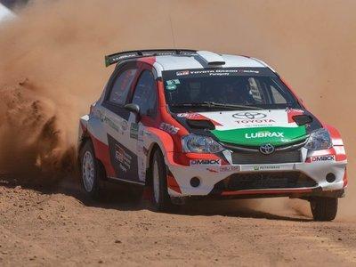 Transchaco rally, testeando tramos