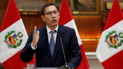 Presidente peruano disuelve el congreso y llama a elecciones