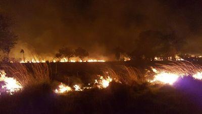 Reportan incendios forestales en varios puntos