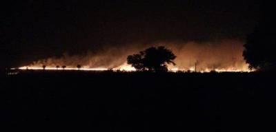 Misiones; otro incendio de gran magnitud, esta vez en zona de Arroyo Verde