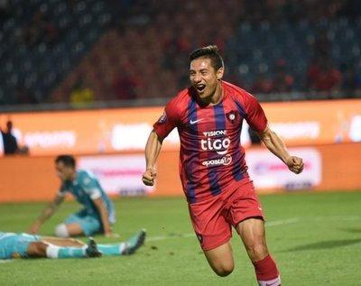 Cerro Porteño golea y recupera la alegría