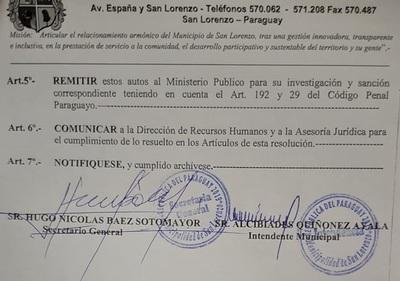 Oporto y Konther: Fueron cesados de sus cargos y caso pasa al Ministerio Público