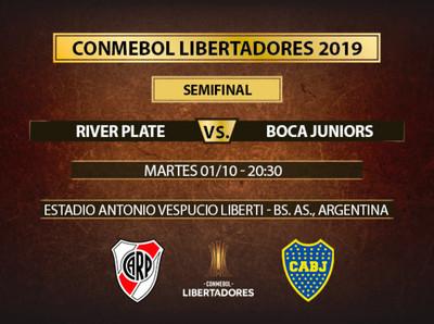 Las semifinales de la Libertadores se abren con el clásico argentino