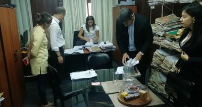 Allanan oficinas del INDERT por denuncias de pedido de coima