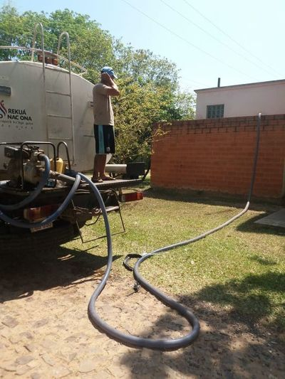 San Bernardino sin agua desde hace más de seis horas