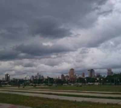 Recién a la madrugada podrían registrarse lluvias en Asunción
