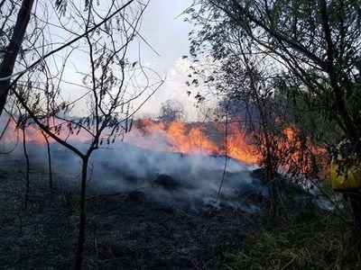 Incendios en Asunción, San Ber, Patiño, Abaí y Paraguarí •